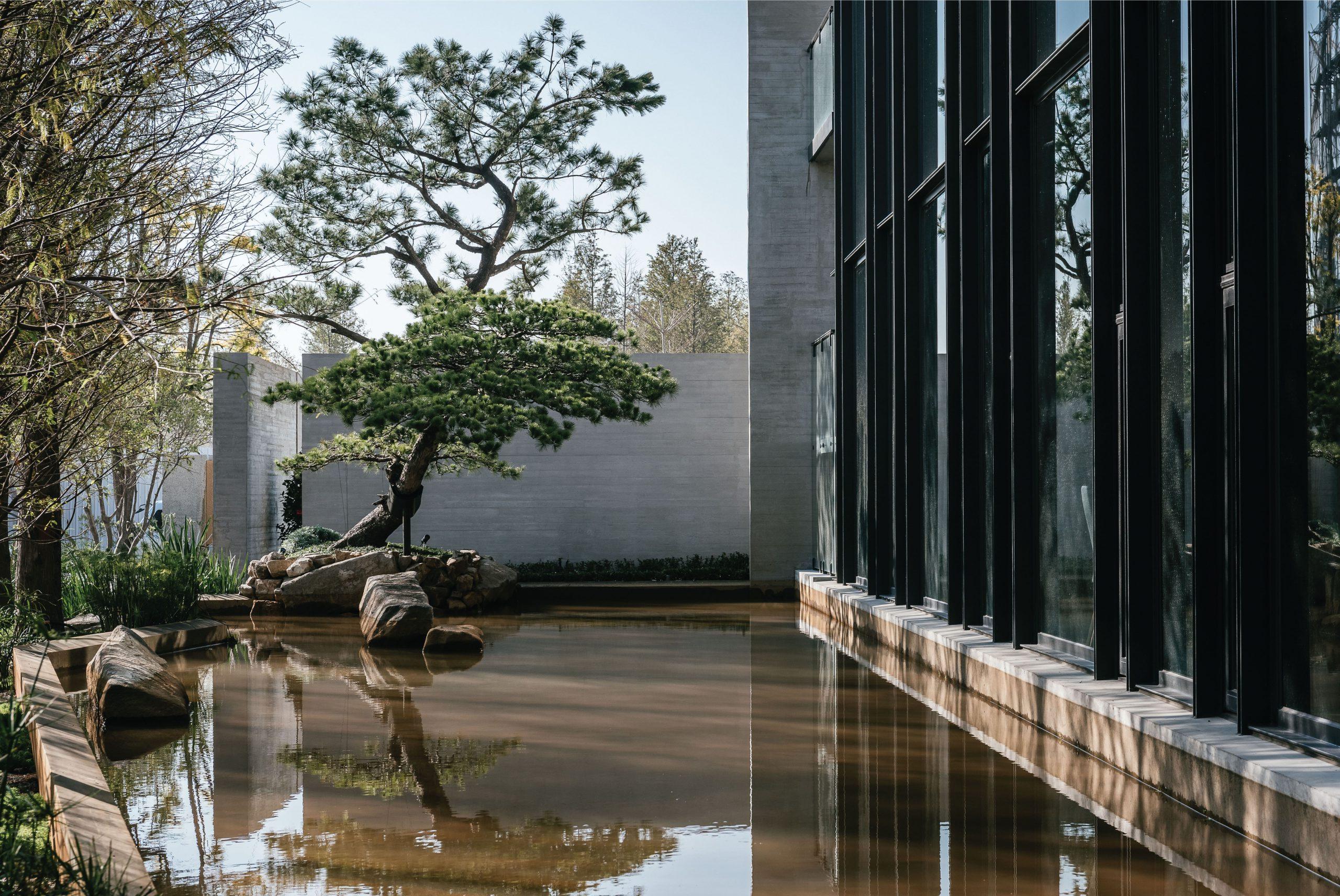 P15_自然與築相容,与玥樓企圖在都市中構一處能安定人心的心靈居所。